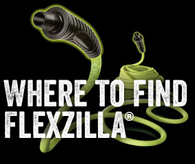 Garden Hose All Weather No Kink Lightweight Flexzilla