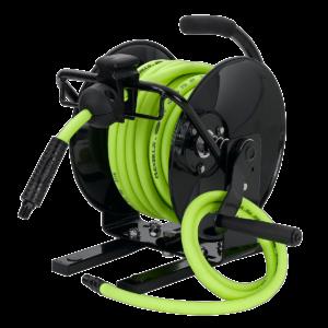 Flexzilla u2013 Open Face Portable  sc 1 st  Flexzilla & Air Hose Reels - Flexzilla® Premium Hoses tools u0026 equipment